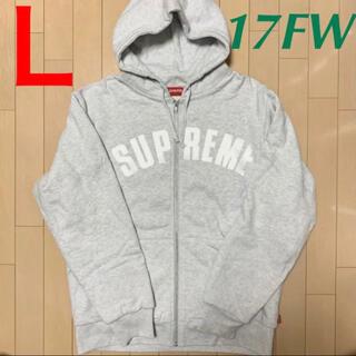 シュプリーム(Supreme)のSupreme Arc Logo Zip Up Sweatshirt フーディー(パーカー)