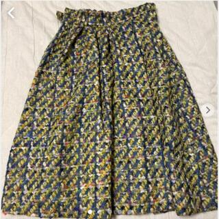 ヨシオクボ(yoshio kubo)のミュラーオブヨシオクボ デザインスカート(ロングスカート)