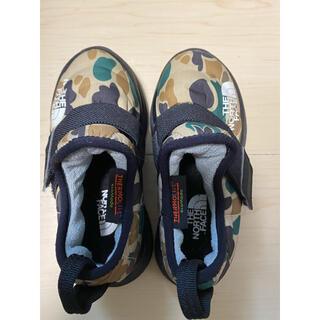 ザノースフェイス(THE NORTH FACE)の☆美品☆ノースフェイス キッズ靴 16cm(スニーカー)