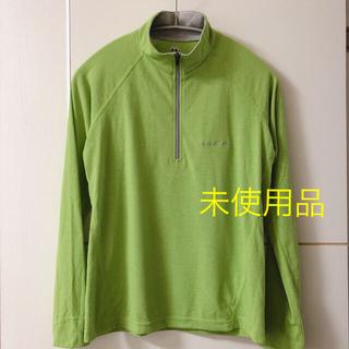 mont bell - mont-bell ロングスリーブジップシャツ
