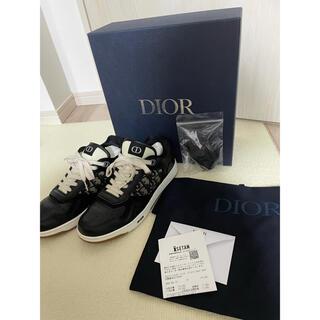 ディオール(Dior)の自身購入 正規品 Dior B27 ブラック ローカット(スニーカー)