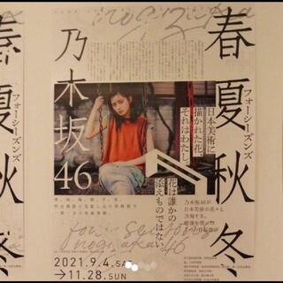 ノギザカフォーティーシックス(乃木坂46)の乃木坂46 遠藤さくら B2ポスター フォーシーズンズ(アイドルグッズ)