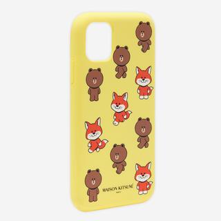 MAISON KITSUNE' - メゾンキツネ  LINEフレンズ iPhoneケース iPhone12