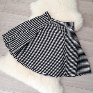 バナーバレット(Banner Barrett)のバナーバレット☆ギンガムチェックフレアスカート(ひざ丈スカート)