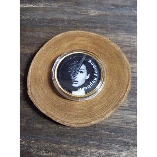 アンティーク雑貨☆Audrey Hepburn☆メダル(その他)