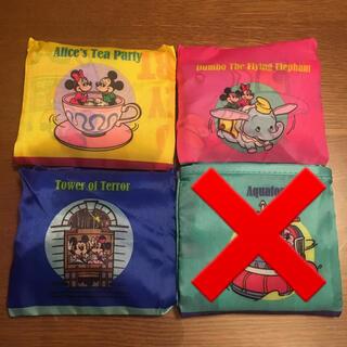 ディズニー カプセルトイ エコバッグ 3個 新品未使用 ミッキー   ミニー(エコバッグ)