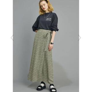 シンゾーン(Shinzone)のシンゾーン the shinzone ラップスカート ロングスカート(ロングスカート)