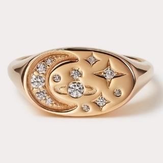 ヴィヴィアンウエストウッド(Vivienne Westwood)の新品・DORINA Ring Gold sizeL(リング(指輪))