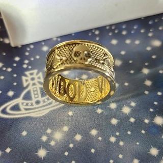ヴィヴィアンウエストウッド(Vivienne Westwood)の新品・KINGSTON Ring Antique Gold sizeM(リング(指輪))