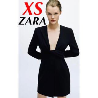 ZARA - 新品✳︎ZARA✳︎ドレープブレザーディテールワンピース