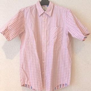 ビームス(BEAMS)の☆BEAMS ビームス シャツ ピンク チェック 美品 Mサイズ(シャツ)