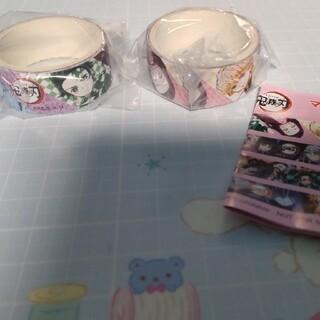 集英社 - 鬼滅の刃 くら寿司 びっくらポン マスキングテープ ①番 2個セット