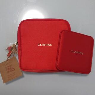 クラランス(CLARINS)のCLARINS ポーチ&ミラーセット(ポーチ)