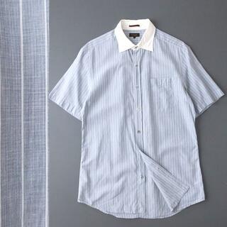 ポールスミス(Paul Smith)のPaul Smith collection ピンストライプ クレリックシャツ(シャツ)