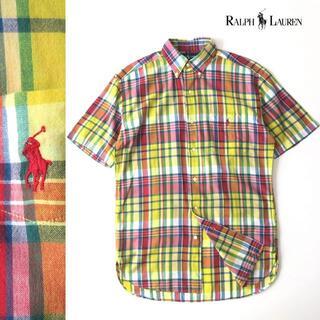 ラルフローレン(Ralph Lauren)のラルフローレン インドコットン マドラスチェックシャツ/ボタンダウン(シャツ)