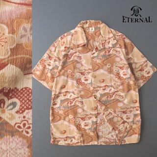 エターナルジーンズ(ETERNAL)のエターナル 倉 Eternal-Kura- ちりめんアロハシャツ 和柄/松竹梅(シャツ)