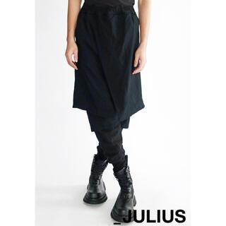 ユリウス(JULIUS)のJULIUS ユリウス 20ss コントラストレイヤードパンツ 1(その他)