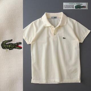 ラコステ(LACOSTE)の70's フランス製 CHEMISE LACOSTE ポロシャツ(ポロシャツ)