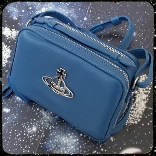 ヴィヴィアンウエストウッド(Vivienne Westwood)の新品・Johanna Camera Bag (Blue)(ショルダーバッグ)