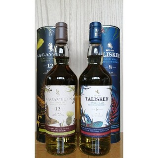 2020年 スペシャルリリース タリスカー8年 & ラガヴーリン12年(ウイスキー)