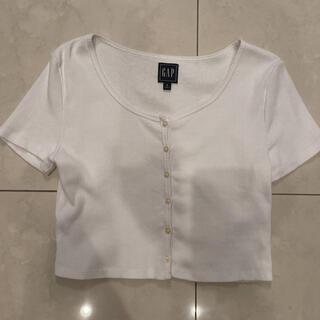 ギャップ(GAP)のGAP クロップドTシャツ(Tシャツ(半袖/袖なし))