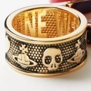 ヴィヴィアンウエストウッド(Vivienne Westwood)の新品・KINGSTON Ring Antique Gold sizeXS(リング(指輪))