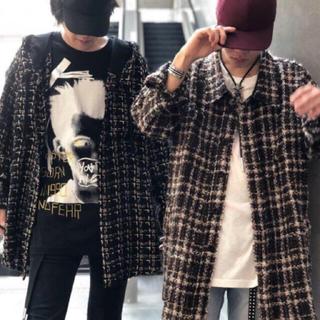 S 新品11万FAITH CONNEXIONフェイスコネクション チェックシャツ(シャツ)