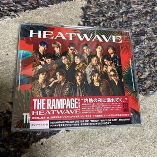 ザランページ(THE RAMPAGE)のHEATWAVE(DVD2枚付)(ポップス/ロック(邦楽))