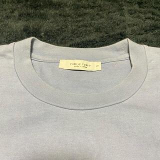 ステュディオス(STUDIOUS)のPUBLIC TOKYO ヘビーウェイトオーバーサイズクルーネックTシャツ(Tシャツ/カットソー(半袖/袖なし))