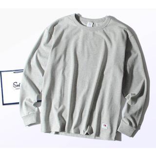 ロンハーマン(Ron Herman)のFruit Of The Loom 8.5oz厚手 Tシャツ グレーM ヘビー(Tシャツ/カットソー(七分/長袖))