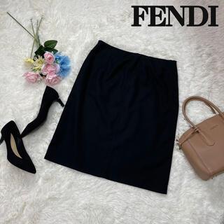 フェンディ(FENDI)のLサイズ♡FENDI フェンディ ミニスカート ブラック 42(ミニスカート)