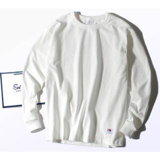 ロンハーマン(Ron Herman)のFruit Of The Loom 8.5oz厚手 Tシャツ 白M ヘビー(Tシャツ/カットソー(七分/長袖))