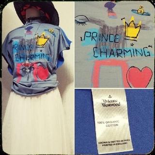 ヴィヴィアンウエストウッド(Vivienne Westwood)の新品・Prince Charming Square Tshirt(Tシャツ(半袖/袖なし))