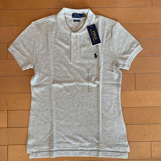 ポロラルフローレン(POLO RALPH LAUREN)の新品タグ付き ラルフローレン 定番ポロシャツ グレー S(ポロシャツ)