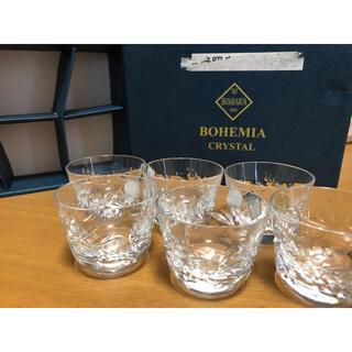 ボヘミア クリスタル(BOHEMIA Cristal)のボヘミアクリスタル チェコ製 ショットグラス 6個(グラス/カップ)