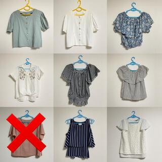 ヘザー(heather)のレディース 夏服 半袖 トップス まとめ売り(Tシャツ(半袖/袖なし))
