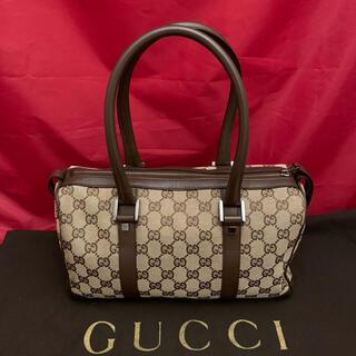 グッチ(Gucci)のGUCCI☆GGキャンバスミニボストンバッグ☆美品(ボストンバッグ)