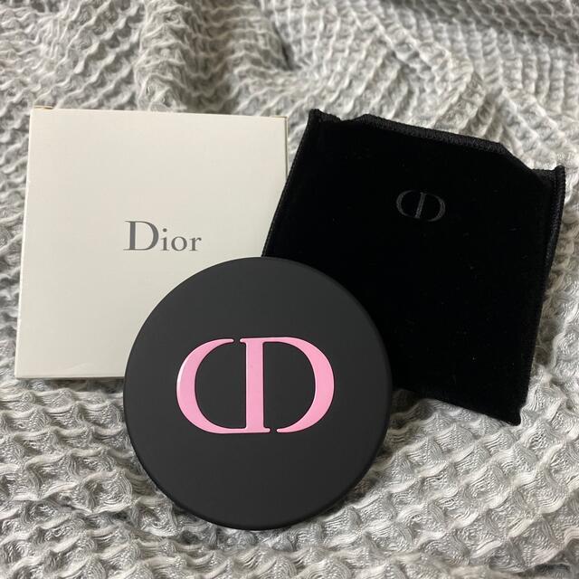 Christian Dior(クリスチャンディオール)のDior / ポケットミラー 未使用 レディースのファッション小物(ミラー)の商品写真