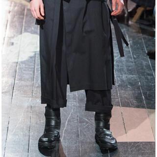 ヨウジヤマモト(Yohji Yamamoto)のヨウジヤマモト 16AW アディダスコラボブーツ(ドレス/ビジネス)