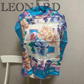 レオナール(LEONARD)のLEONARD シルクスカーフ  ✨新品タグつき✨(バンダナ/スカーフ)