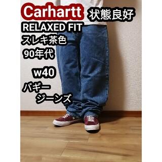 carhartt - 90s Carhartt カーハート バギージーンズ バギーデニムパンツ w40