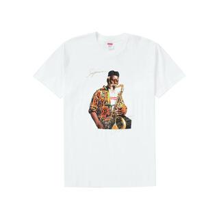 シュプリーム(Supreme)のSupreme Pharoah Sanders Tee White Large(Tシャツ/カットソー(半袖/袖なし))