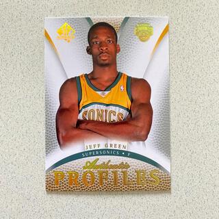 NBA スーパーソニックス ジェフグリーンRCカード(シングルカード)