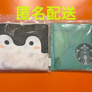 スターバックスコーヒー(Starbucks Coffee)のペンギンエコバッグ(キャンディ柄)&パッカブル バッグ(その他)