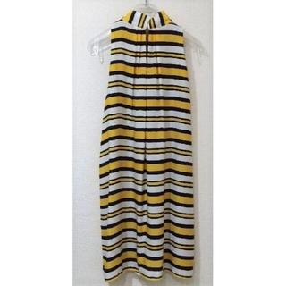 マンゴ(MANGO)のマンゴー  ワンピース Striped bow dress(ひざ丈ワンピース)