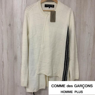 COMME des GARCONS HOMME PLUS - コムデギャルソン オム プリュス  ◆タグ付 未使用品◆ 変形 テープ ニット