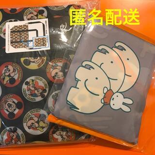 ディズニー(Disney)のミッフィ★レジバッグ&キャリバー設置◎ミッキー★ミニーのエコバッグ(旅行用品)