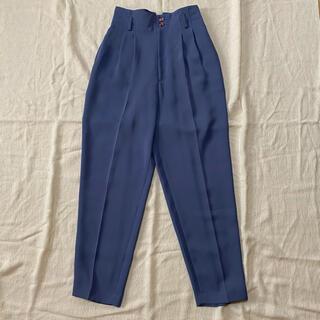 ロキエ(Lochie)の🦢vintage blue slacks (カジュアルパンツ)