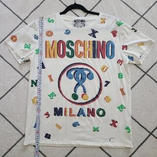 モスキーノ(MOSCHINO)のMOSCHINO モスキーノ Tシャツ ティーシャツ(Tシャツ/カットソー(半袖/袖なし))