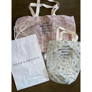 ディーンアンドデルーカ(DEAN & DELUCA)のショップ袋 紙袋 DEAN & DELUCA  スナイデル(ショップ袋)